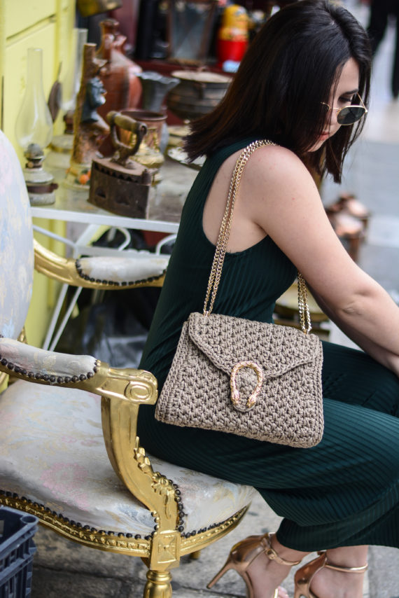 Miss Polyplexi Diana Mocha Shoulder/Cross-body Bag