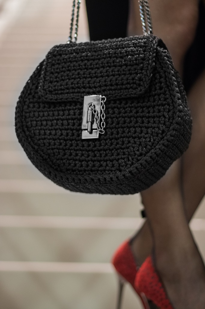 Miss Polyplexi Cosmopolitan Black Bag