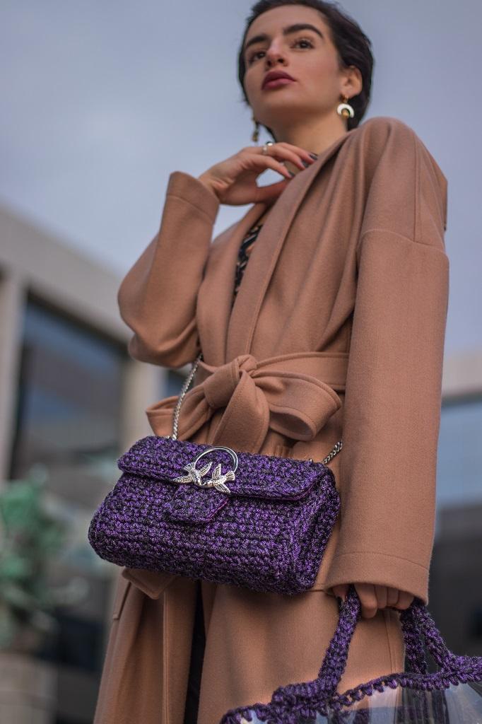Miss Polyplexi Kassandra Purple Bag