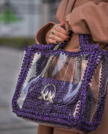 Miss Polyplexi Kassandra Purple Bag