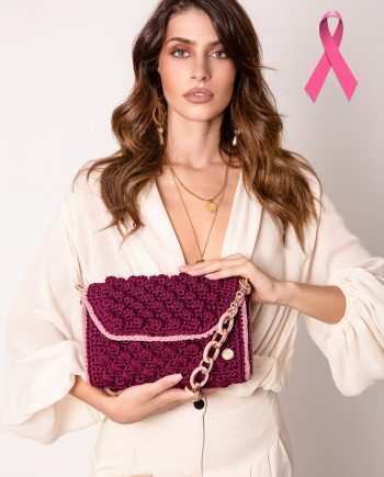 Miss Polyplexi Alma Crimson Pink Shoulder Bag
