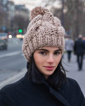 Miss Polyplexi Nordic Beige Beanie