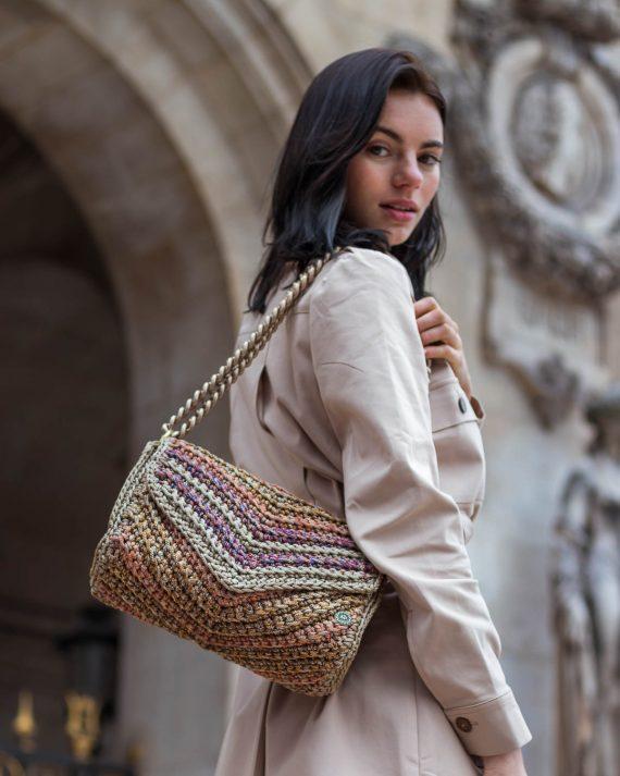 Miss Polyplexi Josephine Multicolour Shoulder Bag