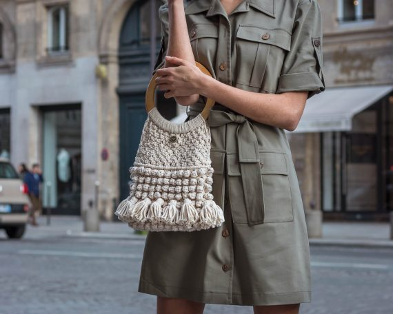 Miss Polyplexi Madeleine Natural Tote Bag