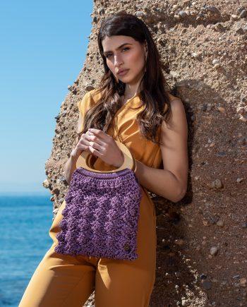 Miss Polyplexi Nixie Lilac Tote Bag