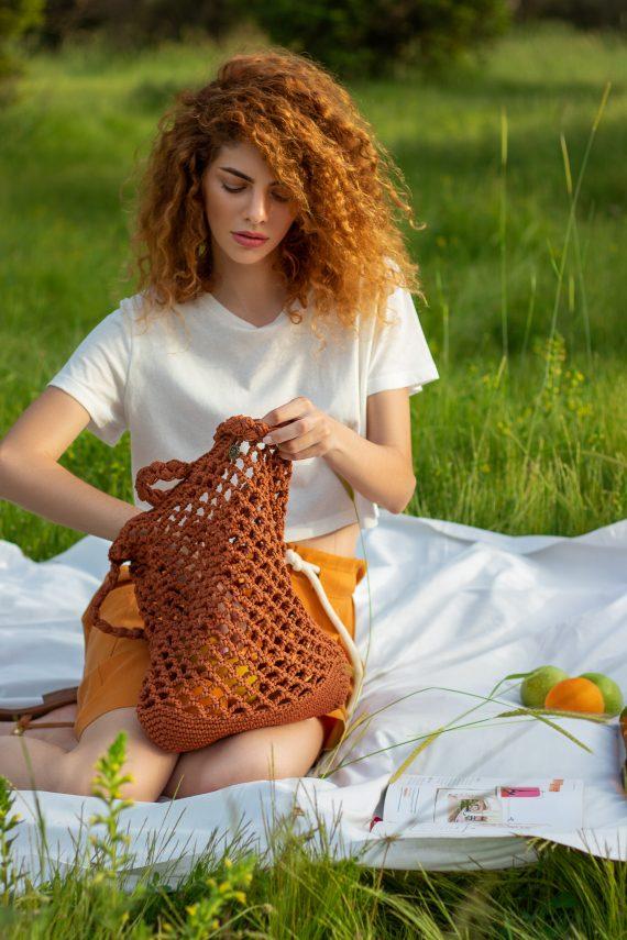 Miss Polyplexi Planet Tabac Net Bag