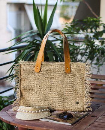 Miss Polyplexi Asteria Sand Beige Shoulder Bag