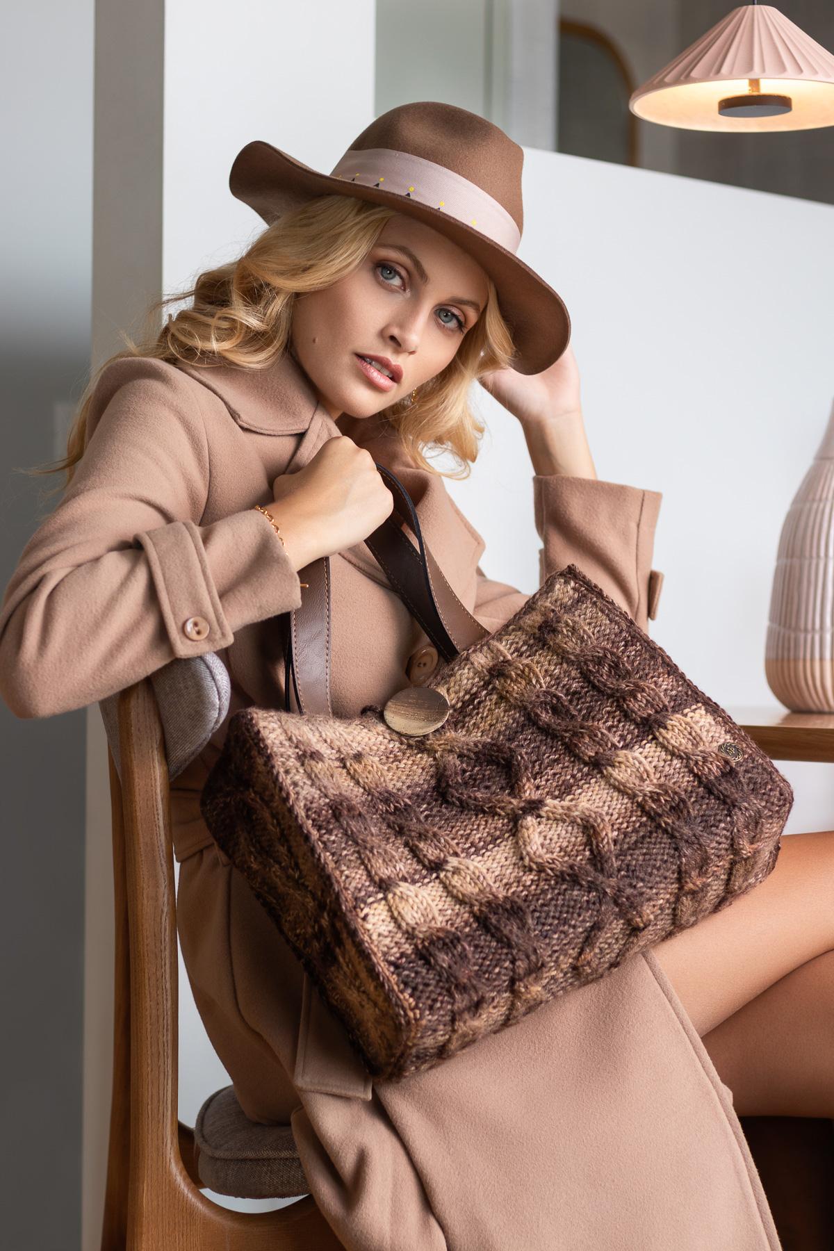 Miss Polyplexi Antiquaria Multicolour Brown Tote Bag