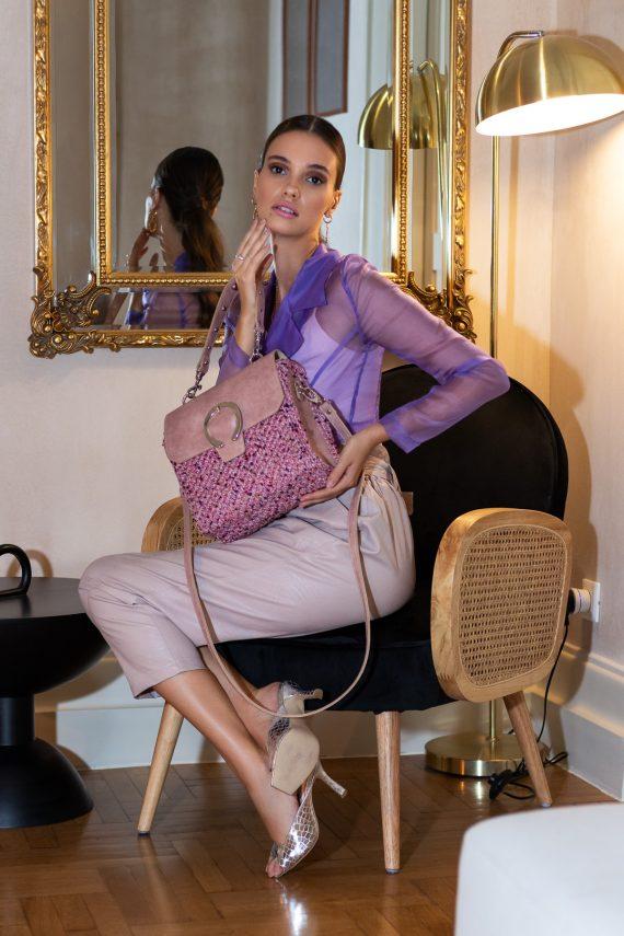Miss Polyplexi Ballanty Pink Cross-body Bag